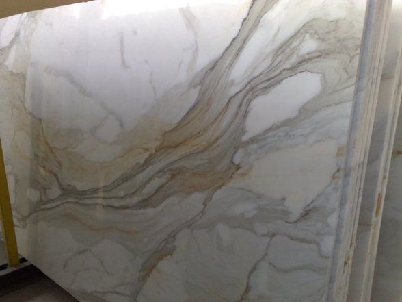 Calacatta Gold Marble Slab and Tiles Nationwide wholesale Garfield Tile Outlet