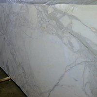 Cal acatta Gold Marble Slab Available in Stock Garfield Tile Outlet New Jersey