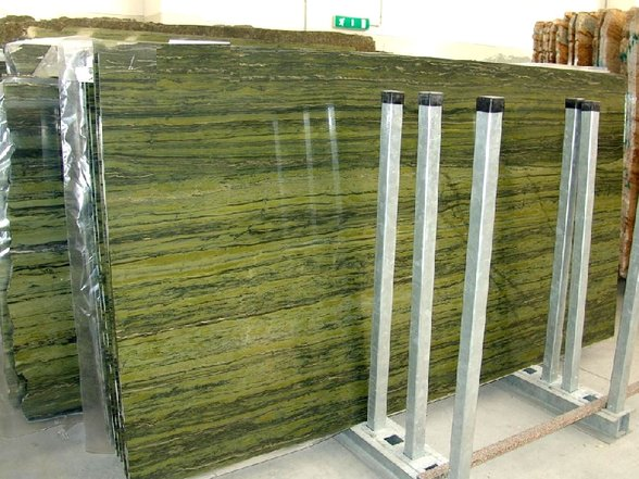 Verde Bamboo marble